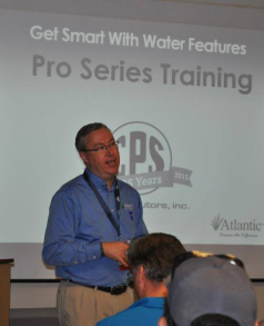 Jim is the National Sales Manager for Atlantic Water Gardens.