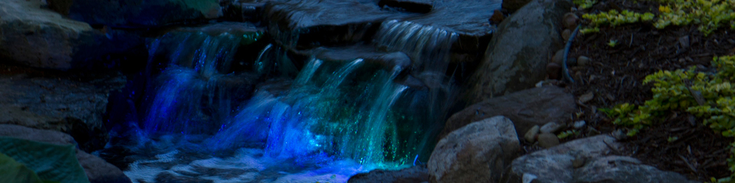 Color Changing LED Lighting Atlantic Water Gardens