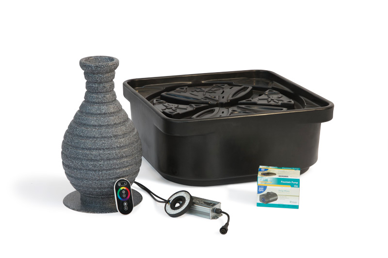 Color Changing Vase Fountain Kit Atlantic Water Gardens
