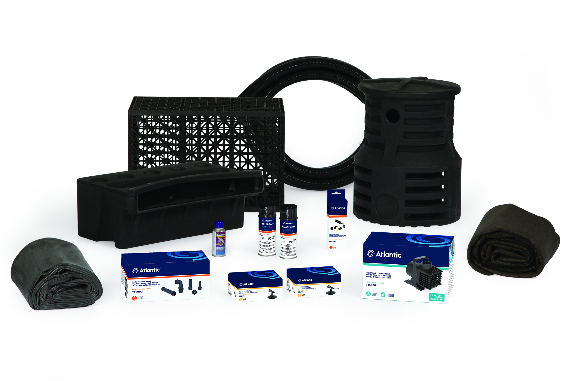 PK1819PL - Large Pond-free Kit