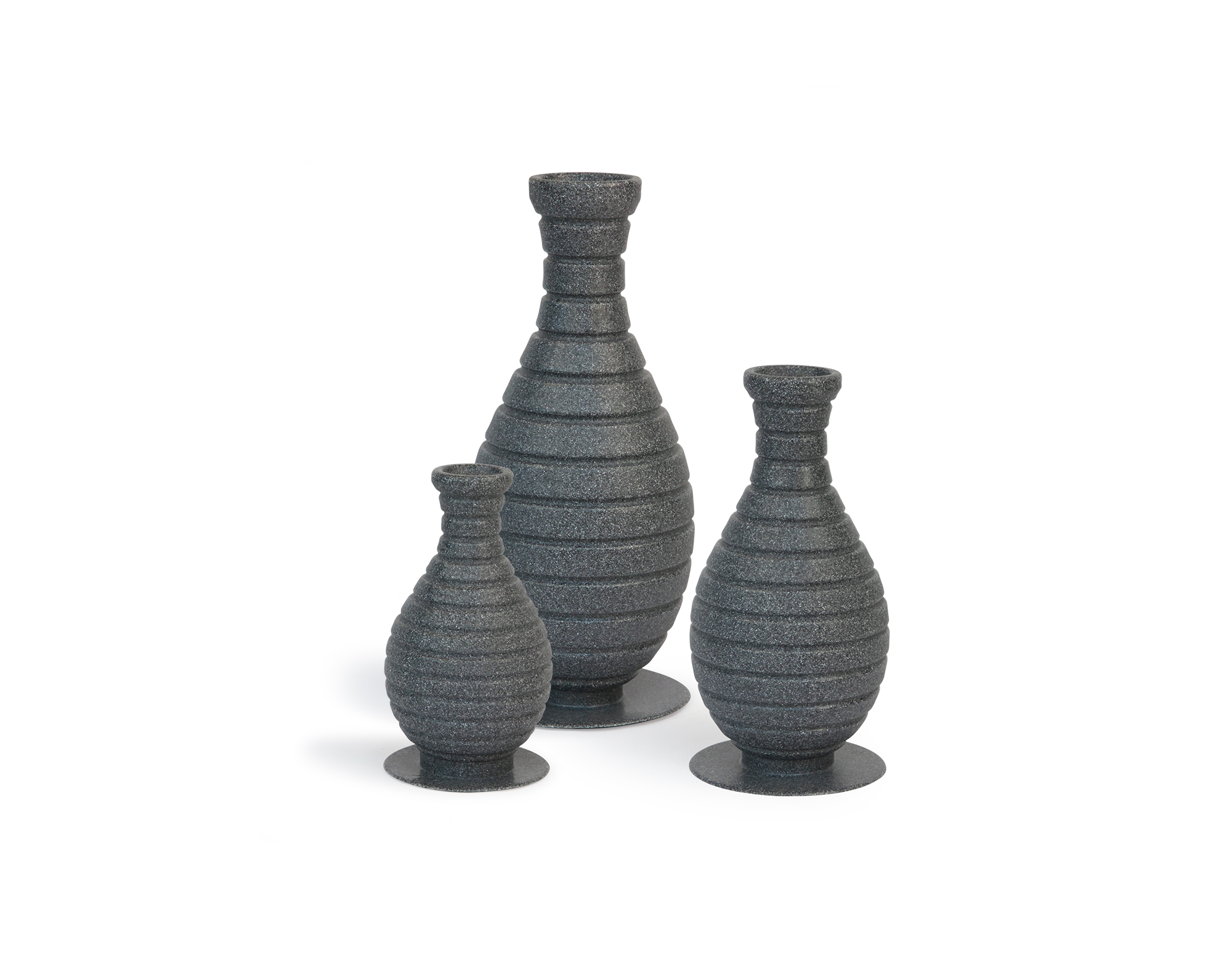 3pc. Color Changing Vase Set