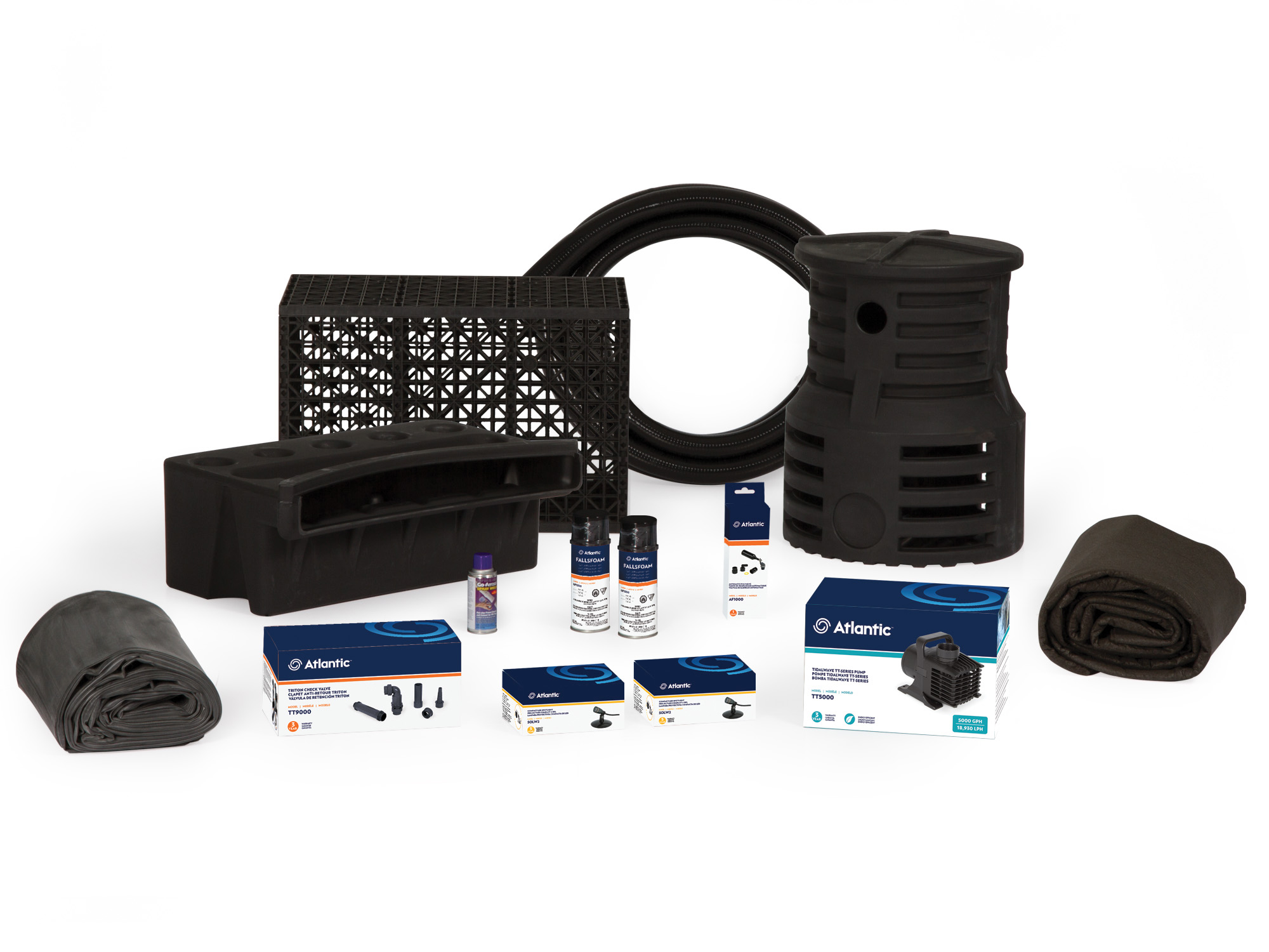 PK1826PL - Large Pond-free Kit